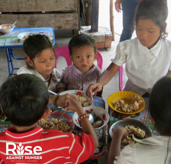 Cambodia Children - Rise Against Hunger